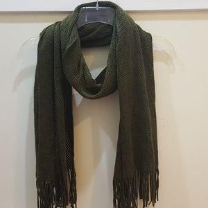 Echo green scarf